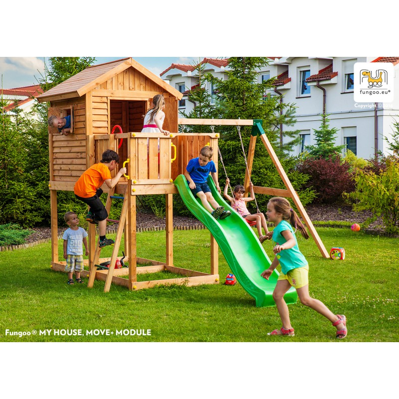 aire de jeux pour enfants en bois s ch lasur myhouse move fungoo. Black Bedroom Furniture Sets. Home Design Ideas